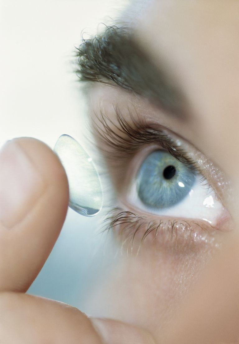 different types of contact lenses