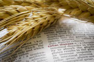 Wheat and celiac disease definition.