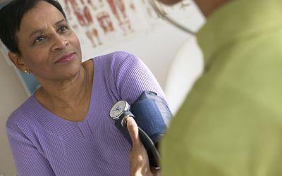 Taking Patient's Blood Pressure