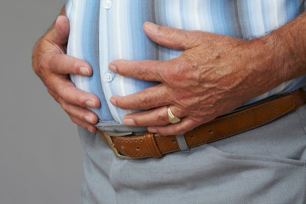 belly fat or abdominal obesity