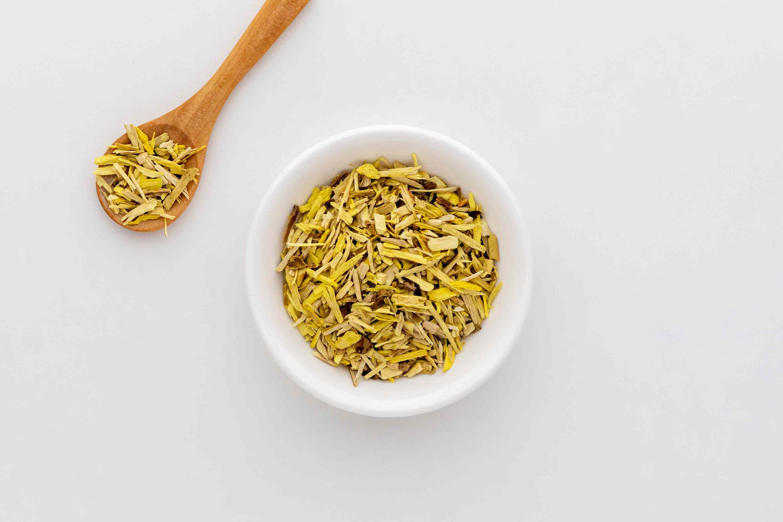 Oregon grape tea supplement