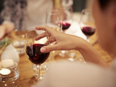 All alcohol is purine rich, but wine is better than beer