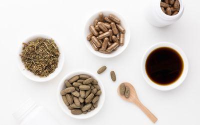 Chanca Piedra tea, capsules, tablets, and liquid extract