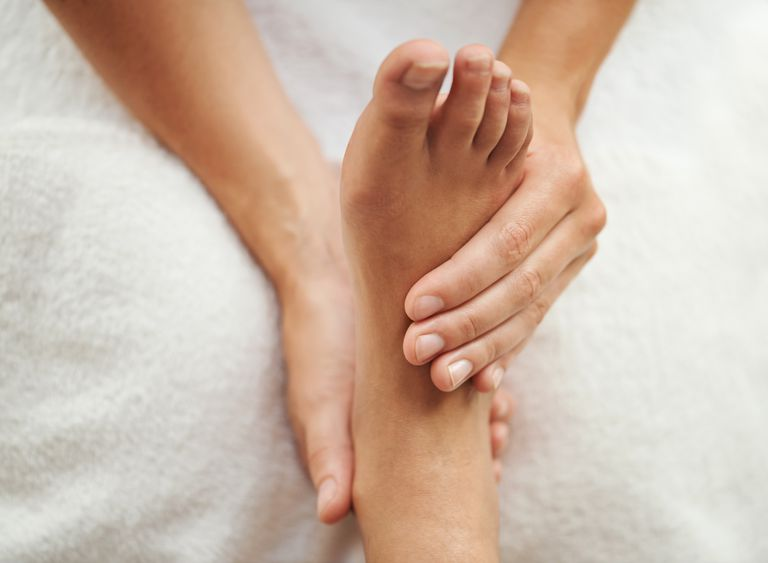 Cropped shot of a woman's foot being massagedhttp://195.154.178.81/DATA/shoots/ic_783326.jpg Details Credit: PeopleImages