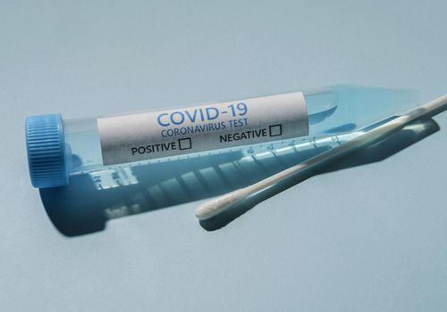 COVID-19 test.