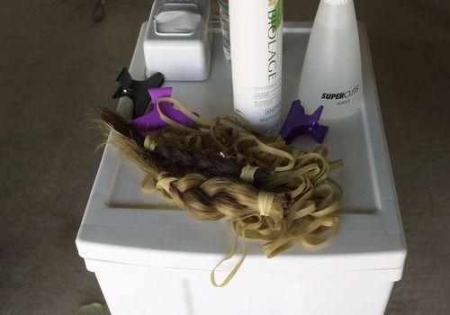 donated braids