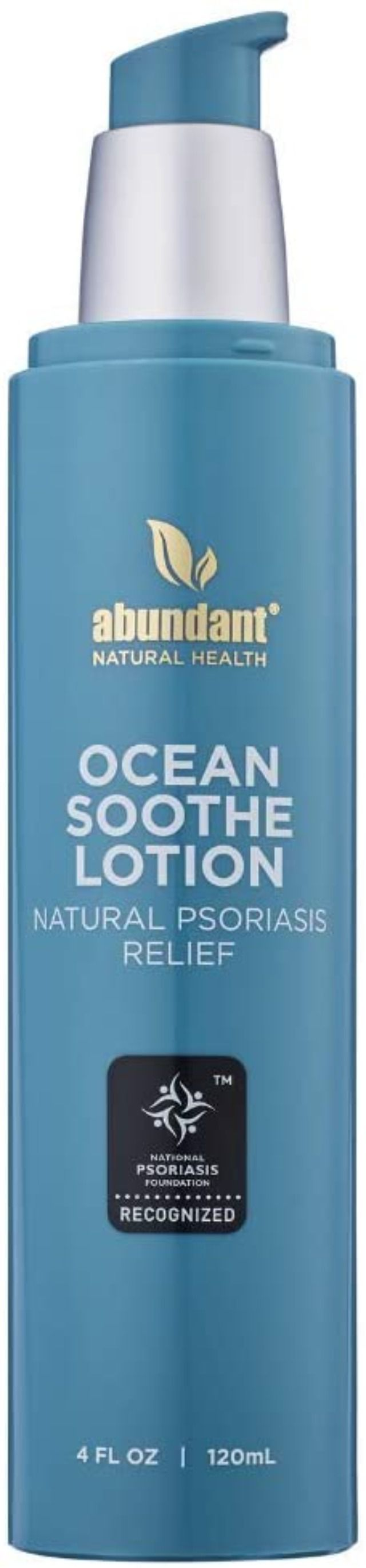 Abundant Natural Health Ocean Soothe Psoriasis Relief Lotion