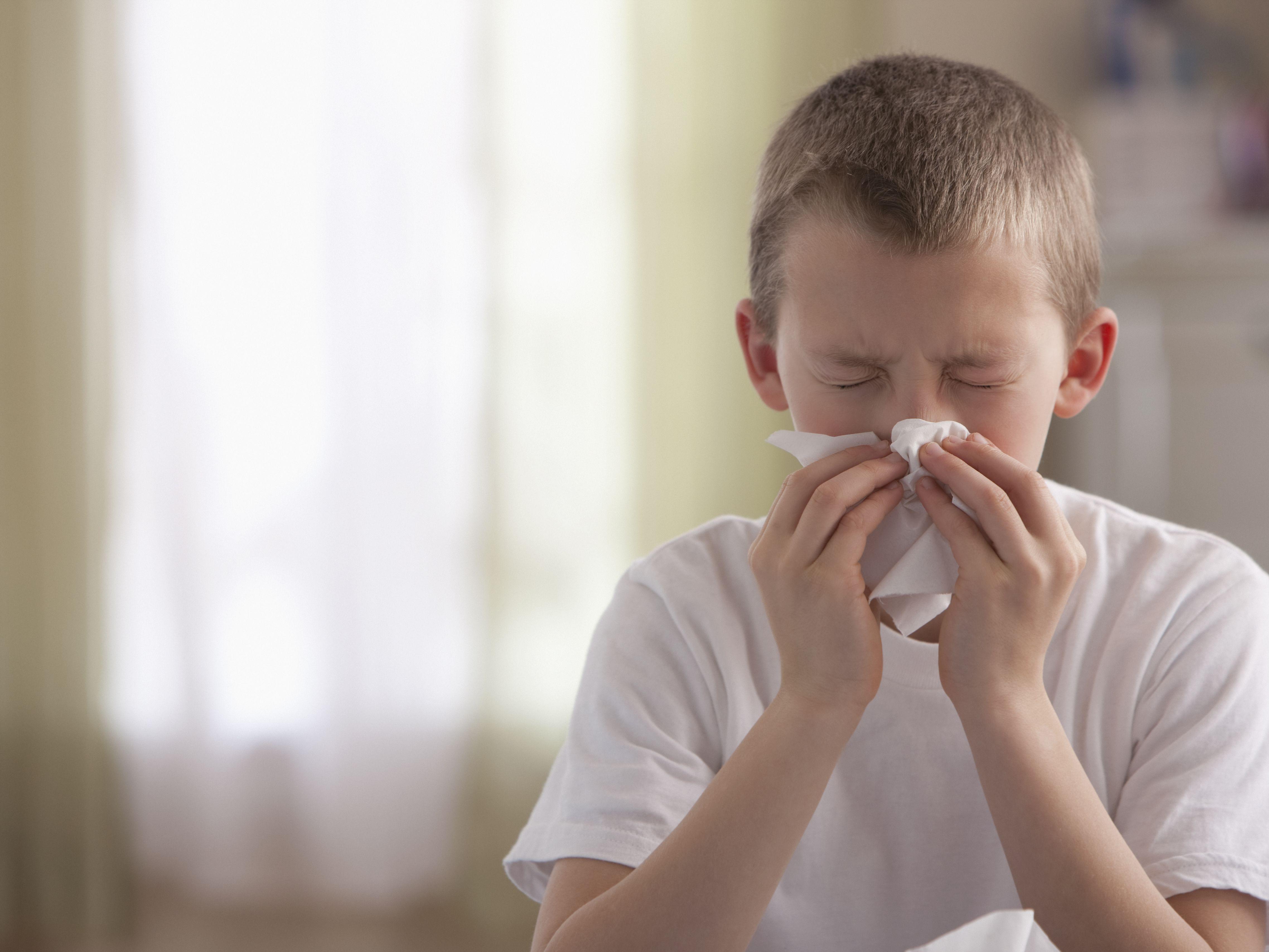 Nosebleeds and Food Allergies