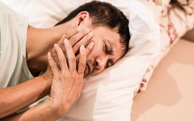 Man with TMJ pain may require jaw surgery