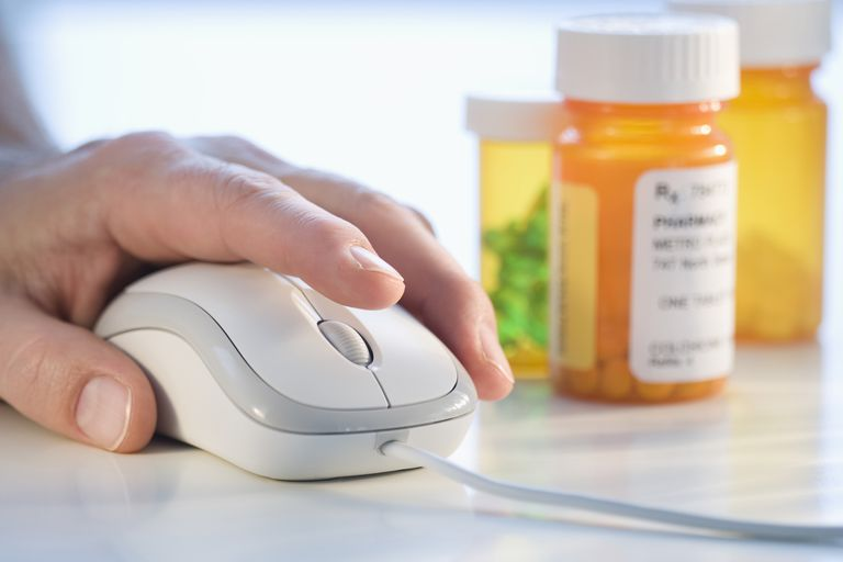 Prescription drugs can be ordered over the Internet.
