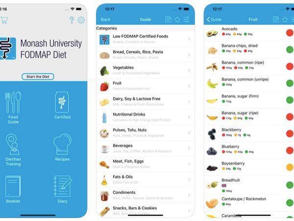 Monash University Fodmap Diet App