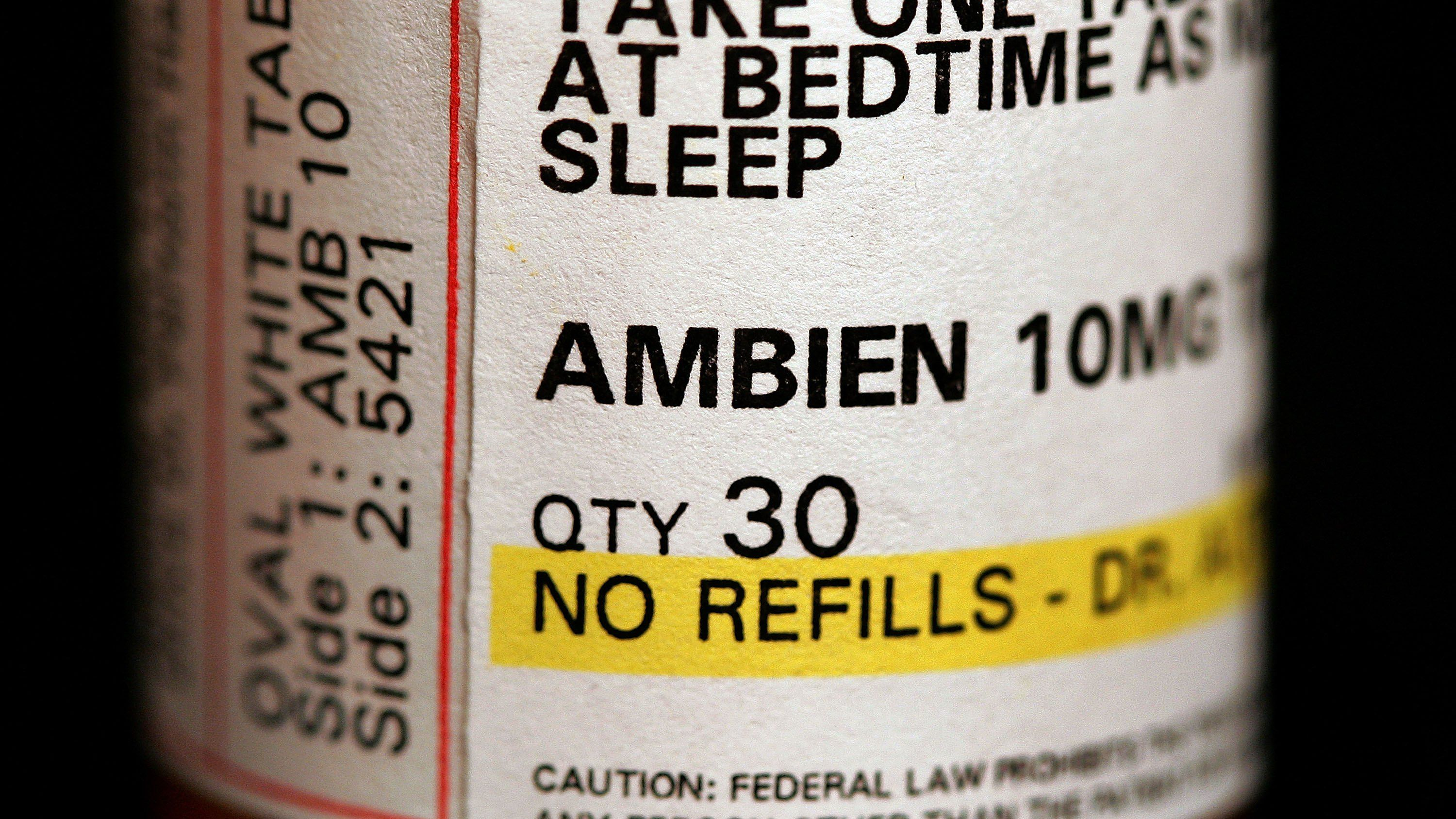 does ambien prevent rem sleep