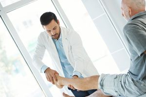 Ankle examination