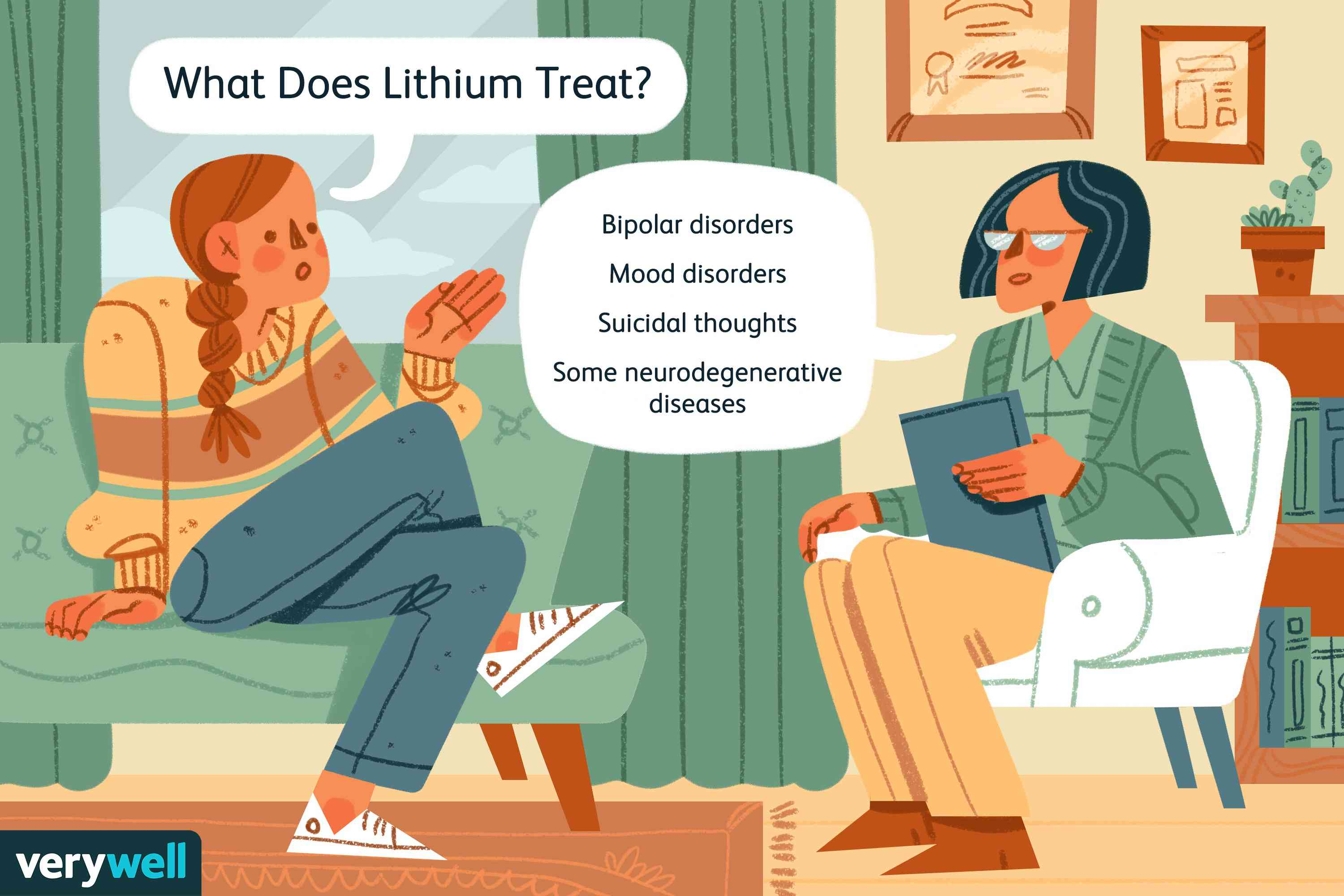 What Does Lithium Treat?