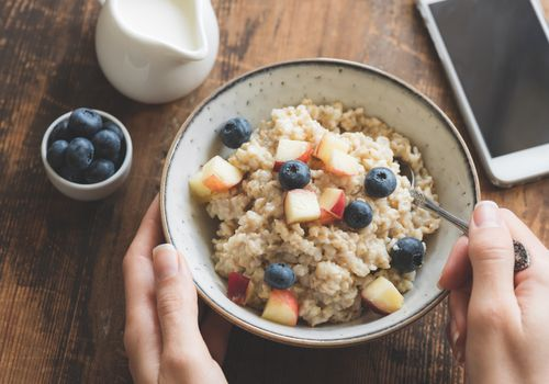 Whole Grain Oatmeal.