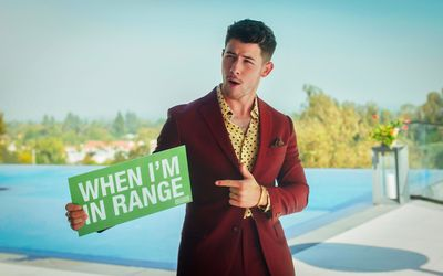 Nick Jonas for the Time in Range campaign.