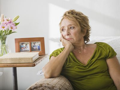 Woman with Dementia and Depression