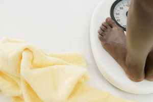 Weight gain or loss might be due to water weight