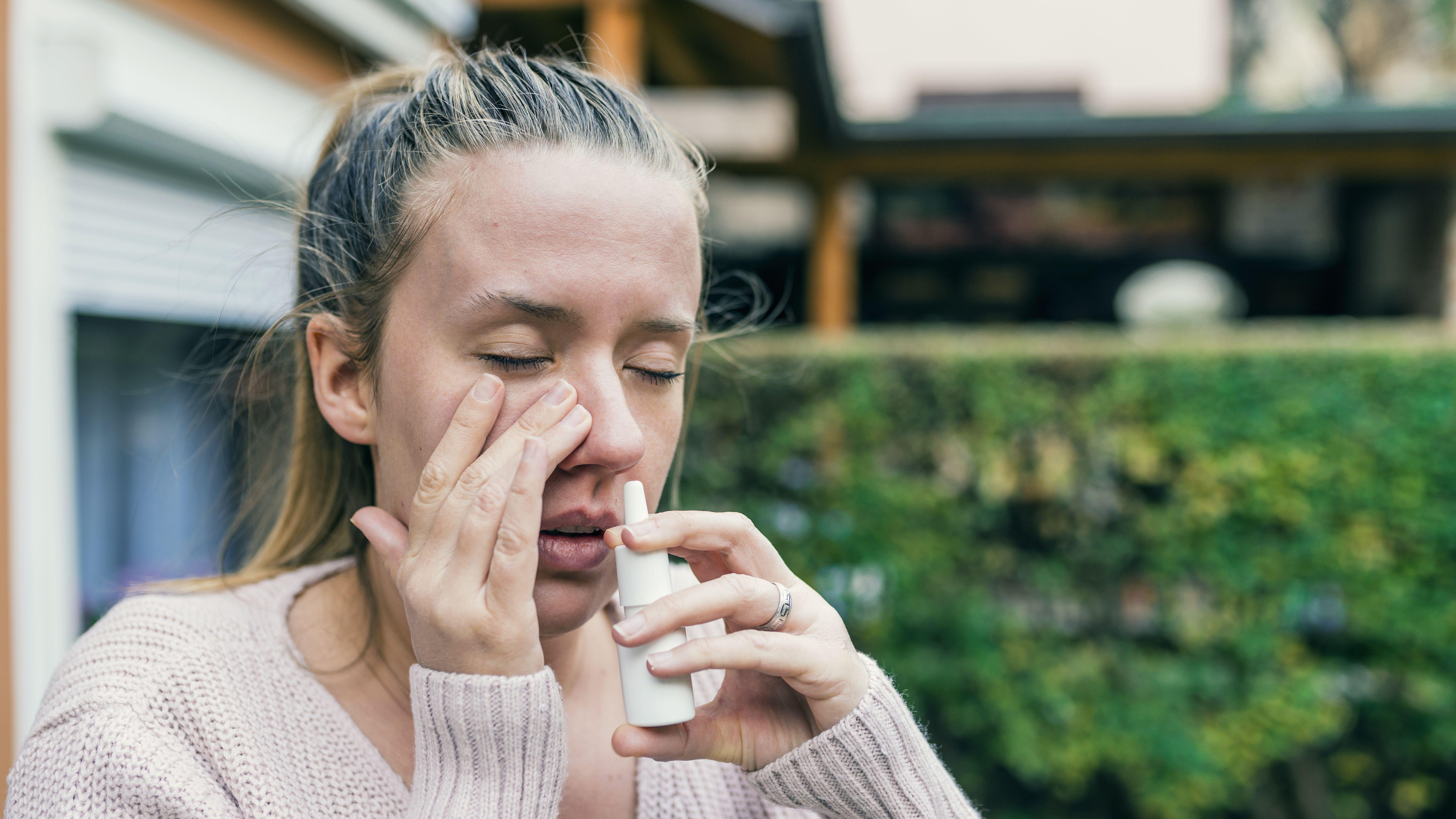steroid nasal spray risks