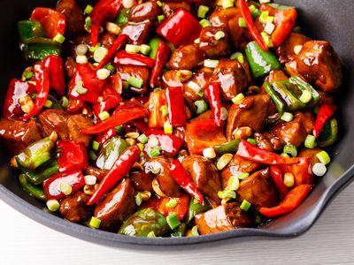Spicy Thai dish