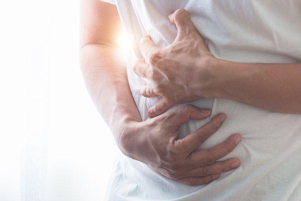 stomachache may be hiatal hernia symptom