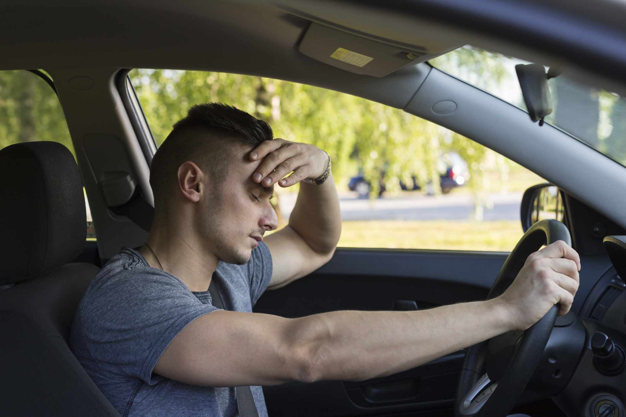 Drowsy while driving may be due to narcolepsy