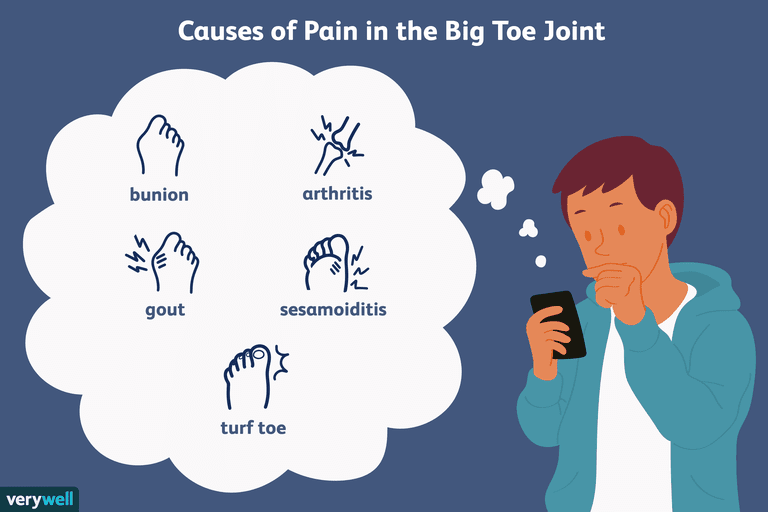 causes of pain in the big toe joint
