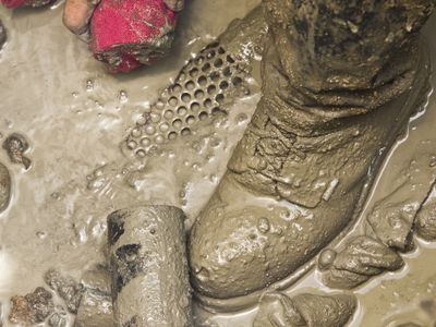 Trench foot can develop due to wet feet for a prolonged time
