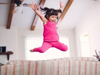 Toddler Jumping