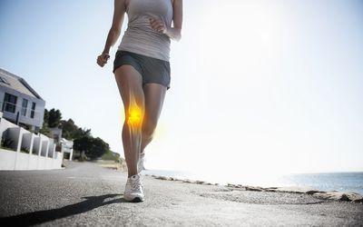 Running through the pain