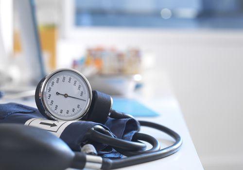 Blood pressure cuff picture.