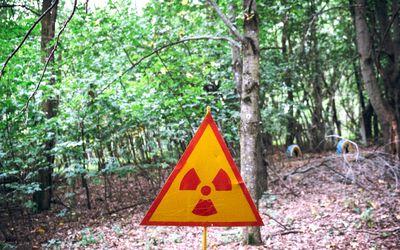 Radiation in Chernobyl.