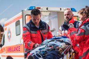 Paramedic Team On Work