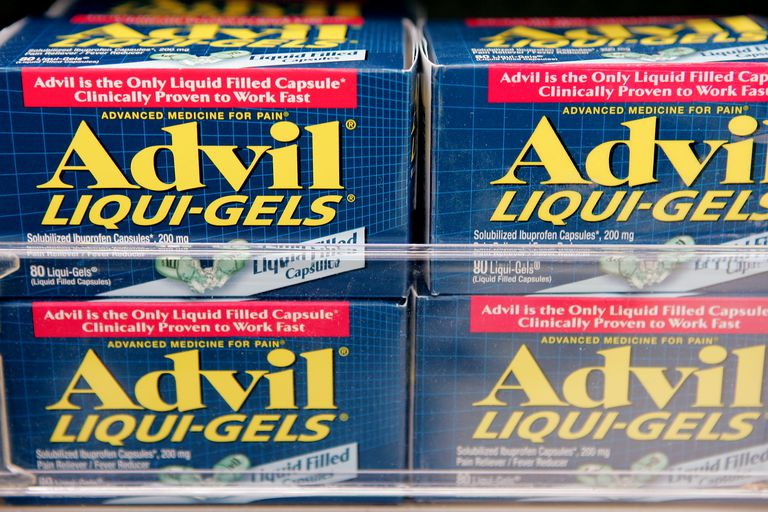 boxes of advil