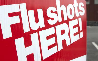 flu shots banner