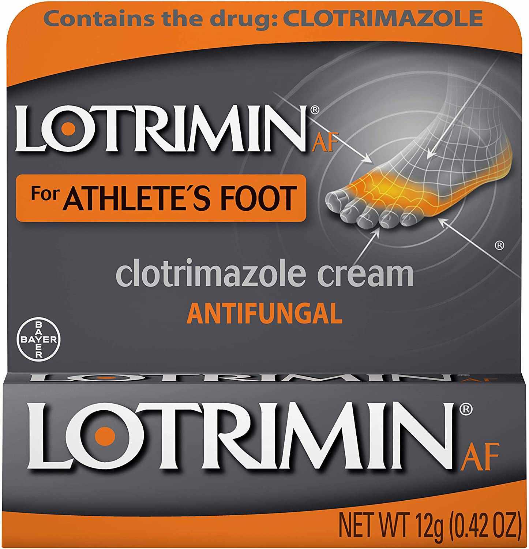 Lotrimin AF Cream for Athlete's Foot