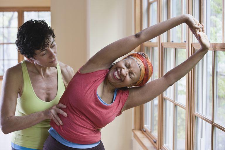 yoga teacher and mature student