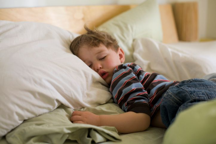 There is lots you can do to help your child sleep better at night.