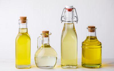 Peanut Oil, Soybean Oil, Sunflower Oil, and Sesame Oil