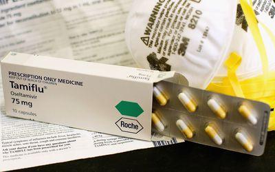 Tamiflu packaging