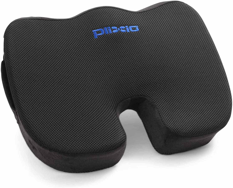 Plixio Memory Foam Seat Cushion