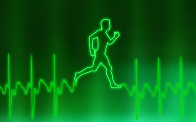 man running