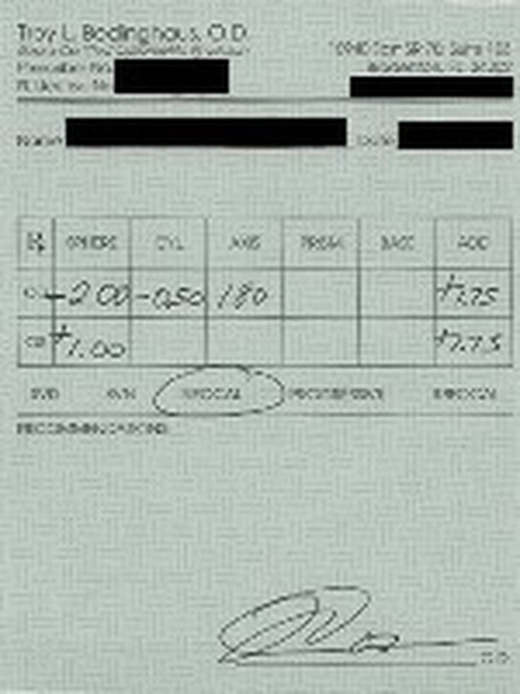 be8d0802eef Read Your Eyeglass Prescription - Numbers and Symbols