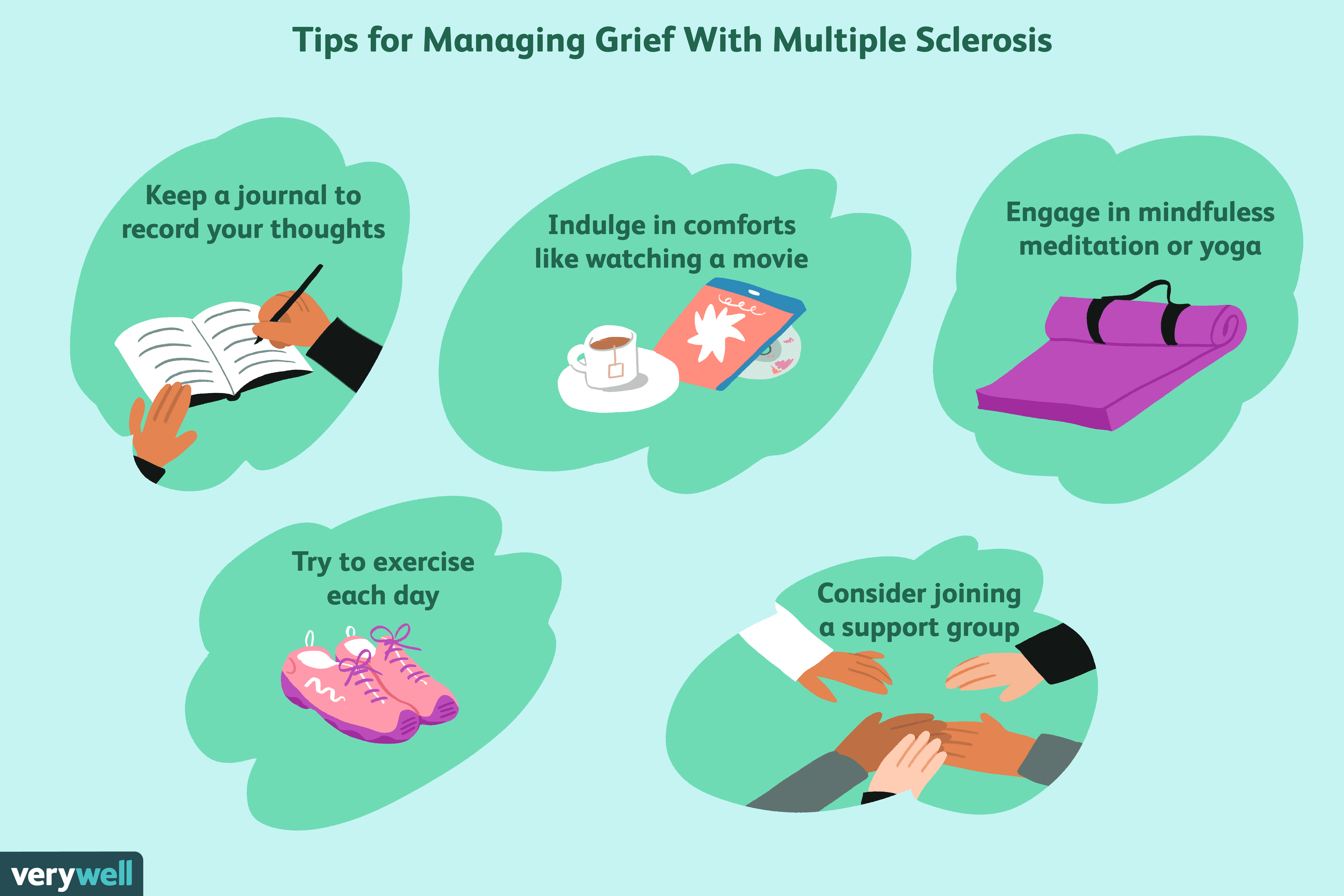 Tips for coping with grief if you have multiple sclerosis