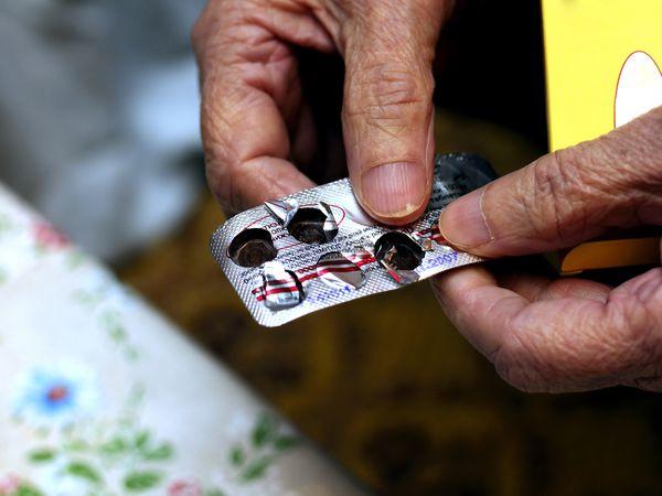 Blister pack of medication