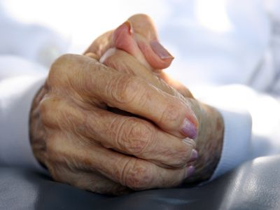 Great Grandma's Hands