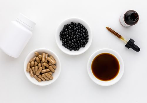 Xiao Yao San tincture, capsules, and teapill