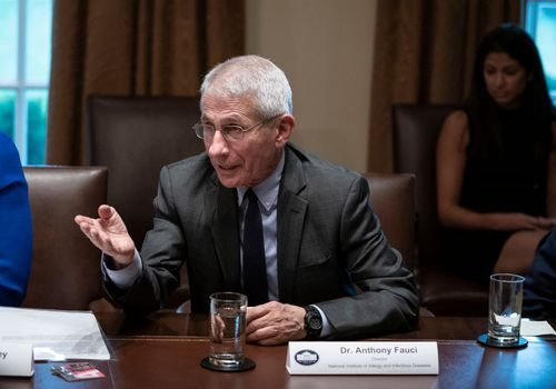 Dr. Anthony Fauci announced the U.S. will provide funding to test three possible COVID-19 vaccines