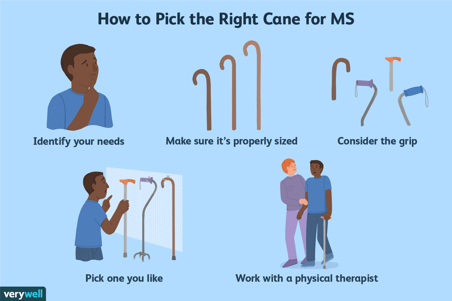 How to Pick the Right Cane for Multiple Sclerosis