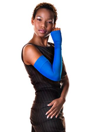 compression sleeve used for lymphedema from breast cancer